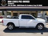 2014 Bright White Ram 1500 SLT Quad Cab 4x4 #112284778