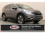 2016 Modern Steel Metallic Honda CR-V Touring #112284666