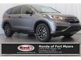 2016 Modern Steel Metallic Honda CR-V SE #112284665