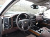 2016 Chevrolet Silverado 1500 High Country Crew Cab 4x4 High Country Saddle Interior