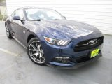 2015 50th Anniversary Kona Blue Metallic Ford Mustang 50th Anniversary GT Coupe #112284884