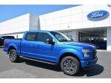 2016 Blue Flame Ford F150 XLT SuperCrew 4x4 #112284821