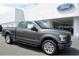 2016 Magnetic Ford F150 XL SuperCab #112317017