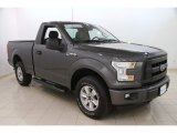2016 Magnetic Ford F150 XL Regular Cab 4x4 #112317152