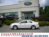 2010 White Platinum Tri-coat Metallic Ford Fusion Hybrid #11208534