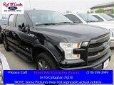 2016 Shadow Black Ford F150 Lariat SuperCrew 4x4 #112316976