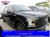 2016 Shadow Black Ford F150 XLT SuperCrew 4x4 #112316973