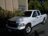 2005 Bright White Dodge Ram 1500 SLT Quad Cab #1108879