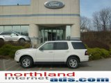 2009 Ford Explorer White Suede