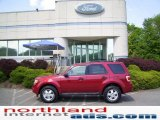 2009 Sangria Red Metallic Ford Escape XLT 4WD #11208395