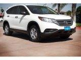 2013 White Diamond Pearl Honda CR-V LX #112347720