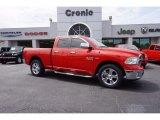 2014 Flame Red Ram 1500 Big Horn Quad Cab 4x4 #112347755