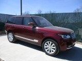 2016 Montalcino Red Metallic Land Rover Range Rover HSE #112369568