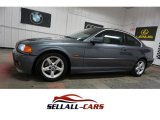 2002 Steel Grey Metallic BMW 3 Series 325i Coupe #112369233