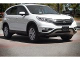 2015 White Diamond Pearl Honda CR-V EX AWD #112369416