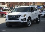 2016 Oxford White Ford Explorer XLT 4WD #112369411