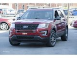 2016 Ruby Red Metallic Tri-Coat Ford Explorer Sport 4WD #112369410