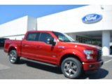 2016 Ruby Red Ford F150 XLT SuperCrew 4x4 #112369405