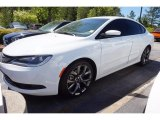2015 Bright White Chrysler 200 S #112369397