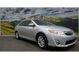 2013 Classic Silver Metallic Toyota Camry Hybrid XLE #112369249