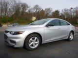 2016 Silver Ice Metallic Chevrolet Malibu LS #112393387