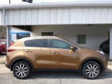 2017 Burnished Copper Kia Sportage EX AWD #112393332