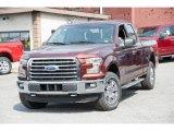 2016 Bronze Fire Ford F150 XLT SuperCab 4x4 #112393356