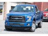 2016 Blue Flame Ford F150 XL Regular Cab 4x4 #112393349