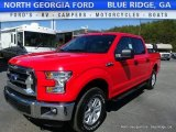 2016 Race Red Ford F150 XLT SuperCrew 4x4 #112393163
