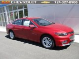 2016 Crystal Red Tintcoat Chevrolet Malibu LT #112415848