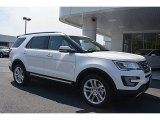 2016 Ford Explorer Limited 4WD Front 3/4 View