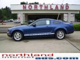 2007 Vista Blue Metallic Ford Mustang V6 Deluxe Coupe #11216586