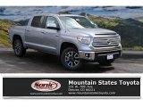 2016 Silver Sky Metallic Toyota Tundra Limited CrewMax 4x4 #112415809