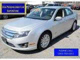 2011 Ingot Silver Metallic Ford Fusion Hybrid #112452231