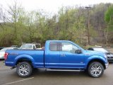 2016 Blue Flame Ford F150 XLT SuperCab 4x4 #112452426