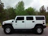 2003 White Hummer H2 SUV #112452218