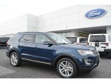 2016 Blue Jeans Metallic Ford Explorer Limited 4WD #112452492