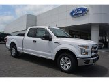 2016 Oxford White Ford F150 XLT SuperCab #112452491