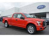 2016 Race Red Ford F150 XL SuperCab #112452490