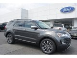 2016 Magnetic Metallic Ford Explorer Platinum 4WD #112452488