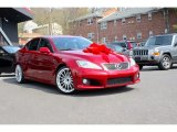 2008 Matador Red Mica Lexus IS F #112452181