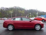 2016 Ruby Red Metallic Ford Fusion SE #112502494