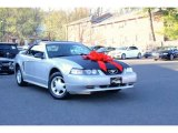 2000 Silver Metallic Ford Mustang V6 Convertible #112502386