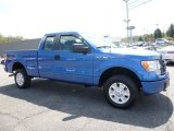 2012 Blue Flame Metallic Ford F150 STX SuperCab 4x4 #112523273
