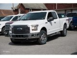 2016 Oxford White Ford F150 XLT SuperCab 4x4 #112523311