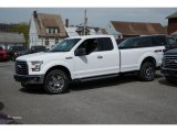 2016 Oxford White Ford F150 XLT SuperCab 4x4 #112523308