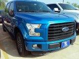 2016 Blue Flame Ford F150 XLT SuperCrew 4x4 #112523247