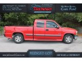 1999 Victory Red Chevrolet Silverado 1500 LS Extended Cab #112550690