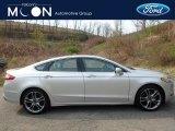 2015 Ingot Silver Metallic Ford Fusion Titanium AWD #112550887
