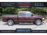 2004 Deep Molten Red Pearl Dodge Ram 1500 SLT Quad Cab #112550682